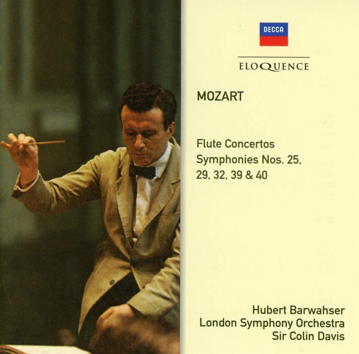 Photo No.1 of Mozart: Flute Concertos, Symphonies 39, 40, 25, 29, 32
