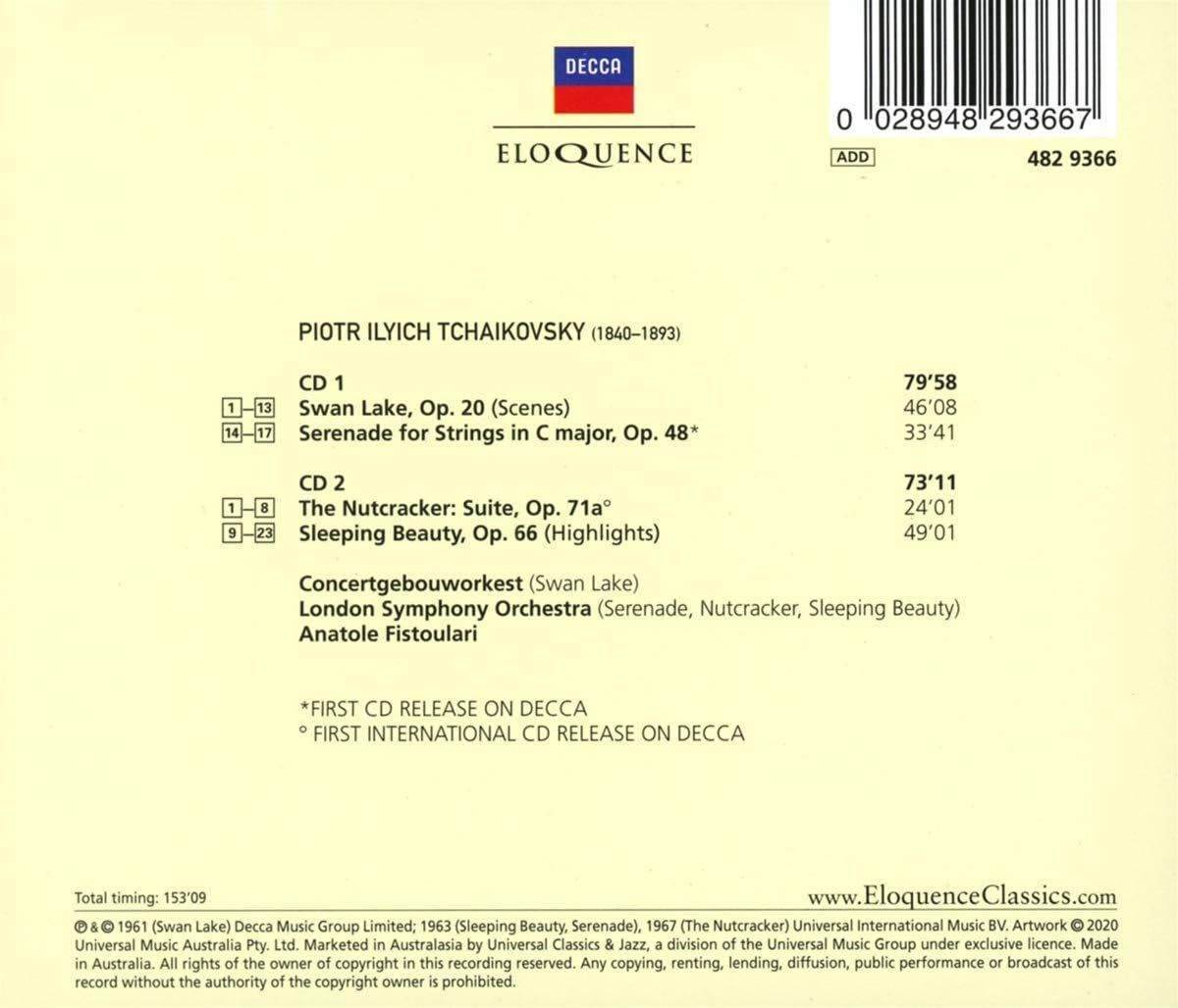 Photo No.2 of Tchaikovsky: Ballet Suites; Serenade