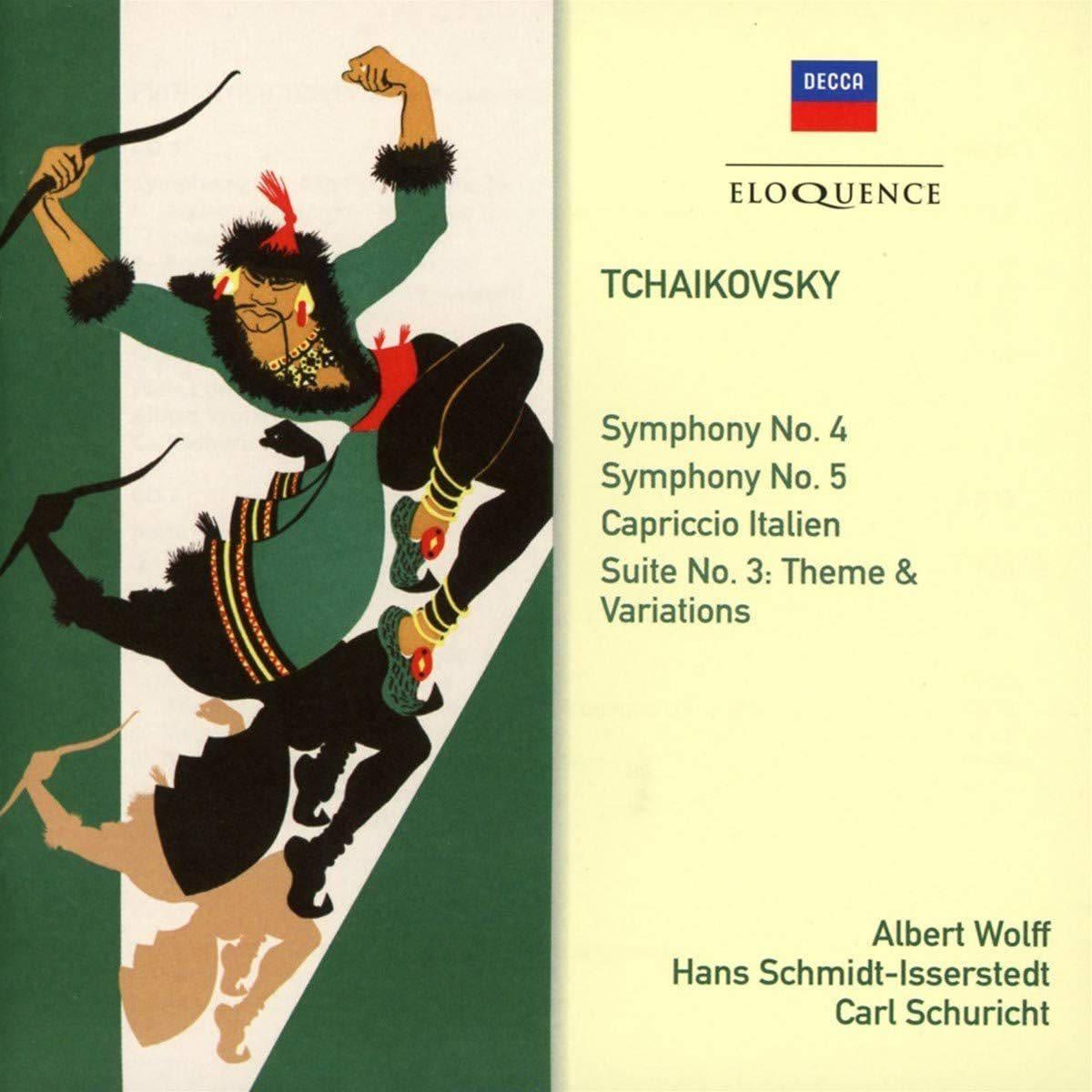Photo No.1 of Tchaikovsky: Symphonies Nos. 4 & 5