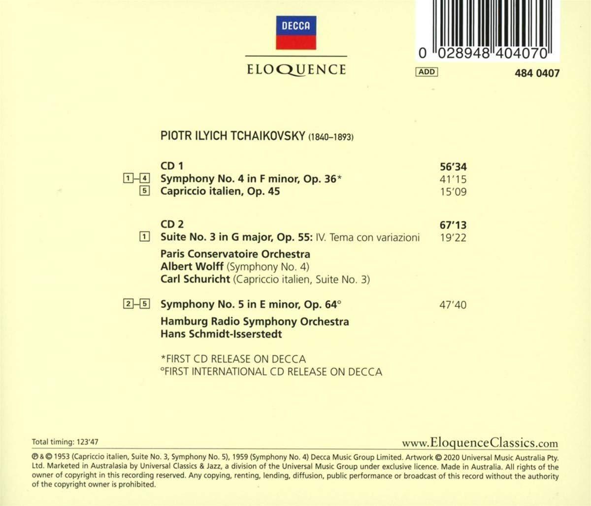 Photo No.2 of Tchaikovsky: Symphonies Nos. 4 & 5