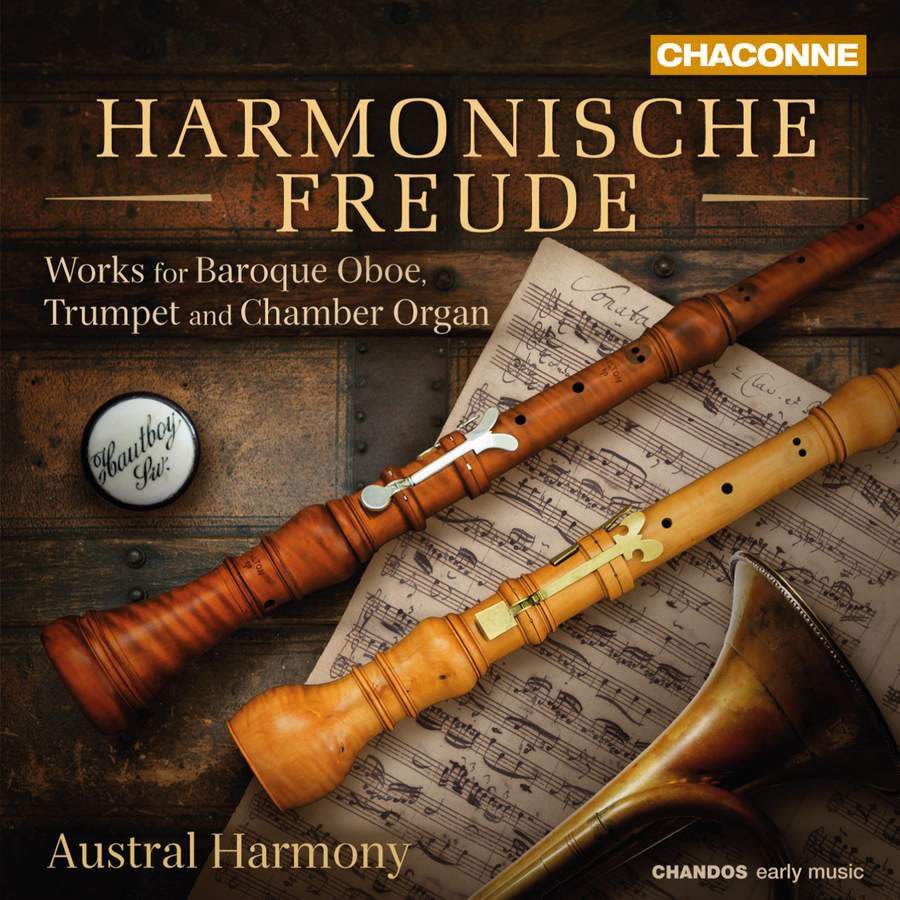 Photo No.1 of Harmonische Freude: Works for Baroque Oboe, Trumpet and Chamber Organ