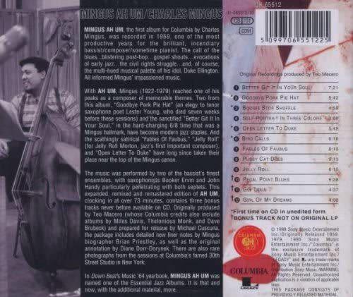 Photo No.2 of Charles Mingus: Mingus Ah Um