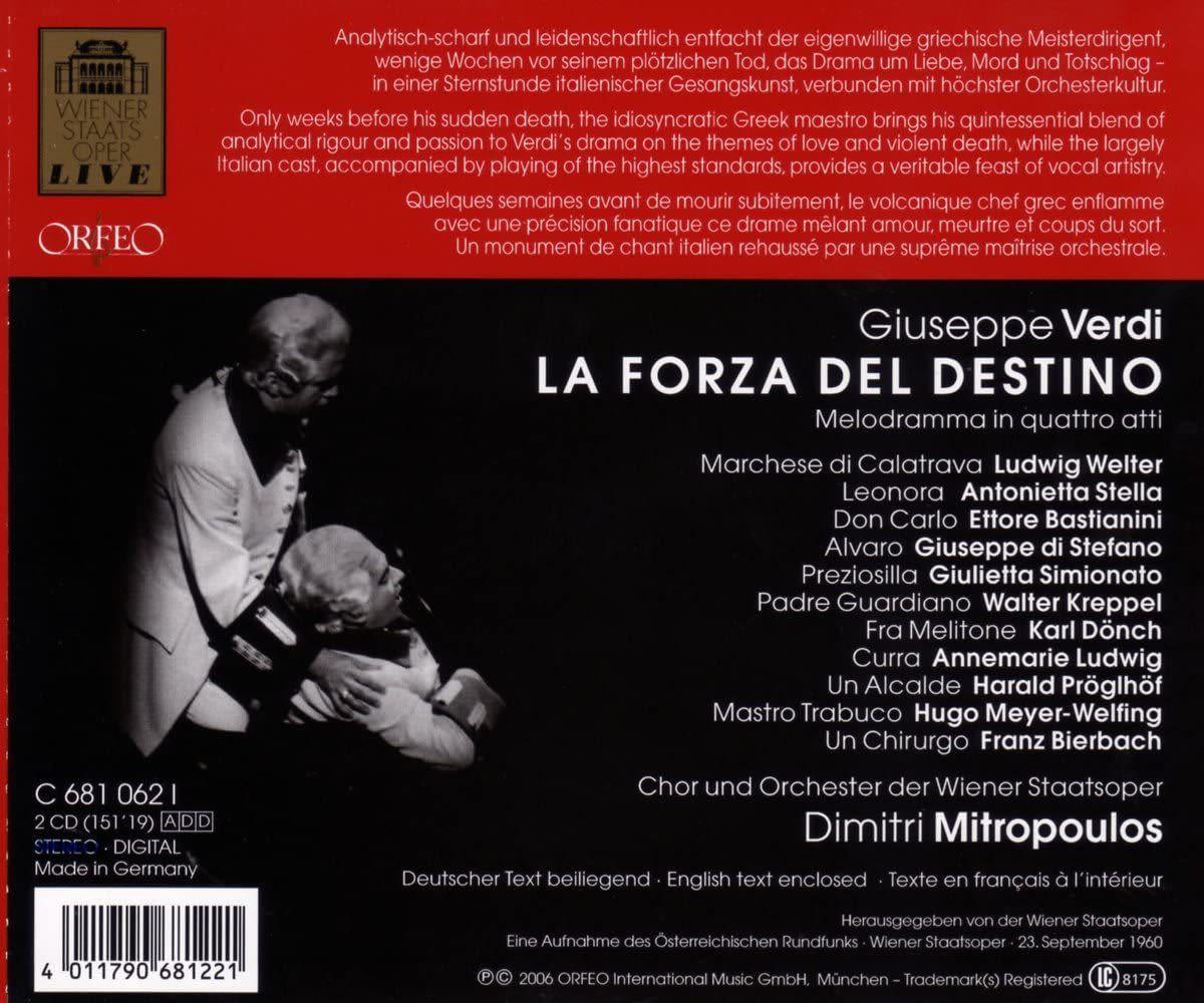 Photo No.2 of Giuseppe Verdi: La Forza del Destino