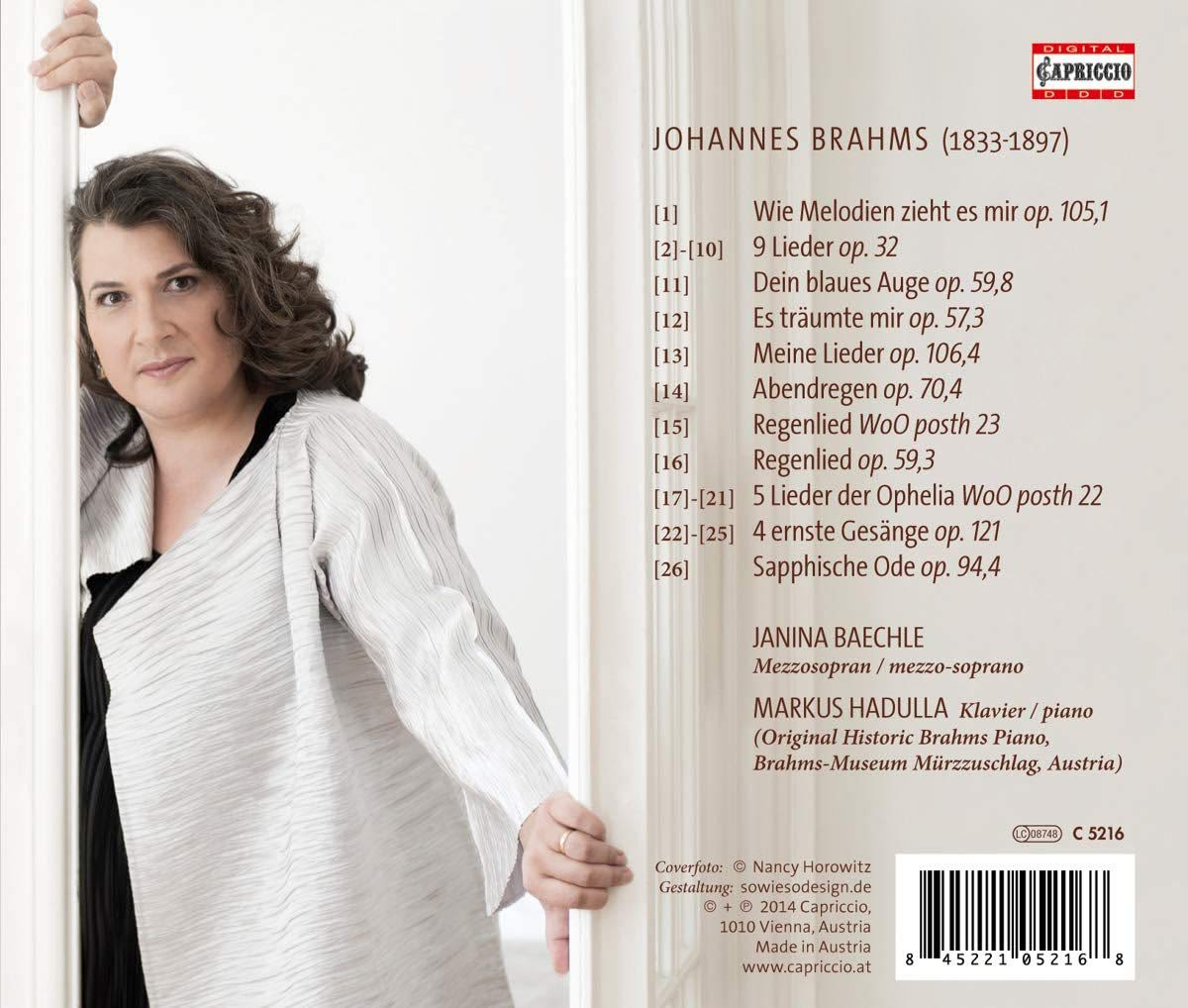 Photo No.2 of Brahms: Selected Songs
