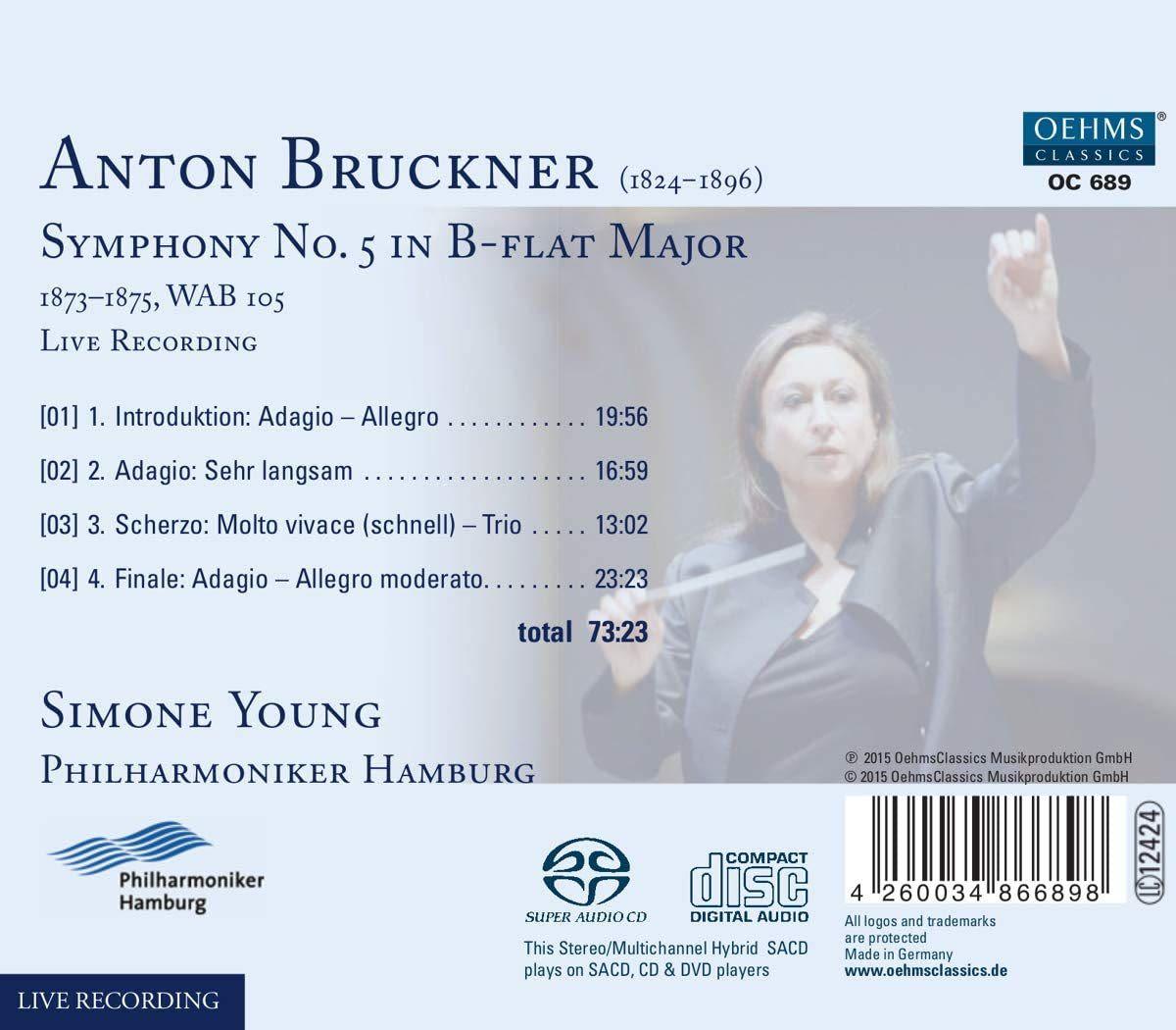 Photo No.2 of Bruckner: Symphony No. 5 in B flat major