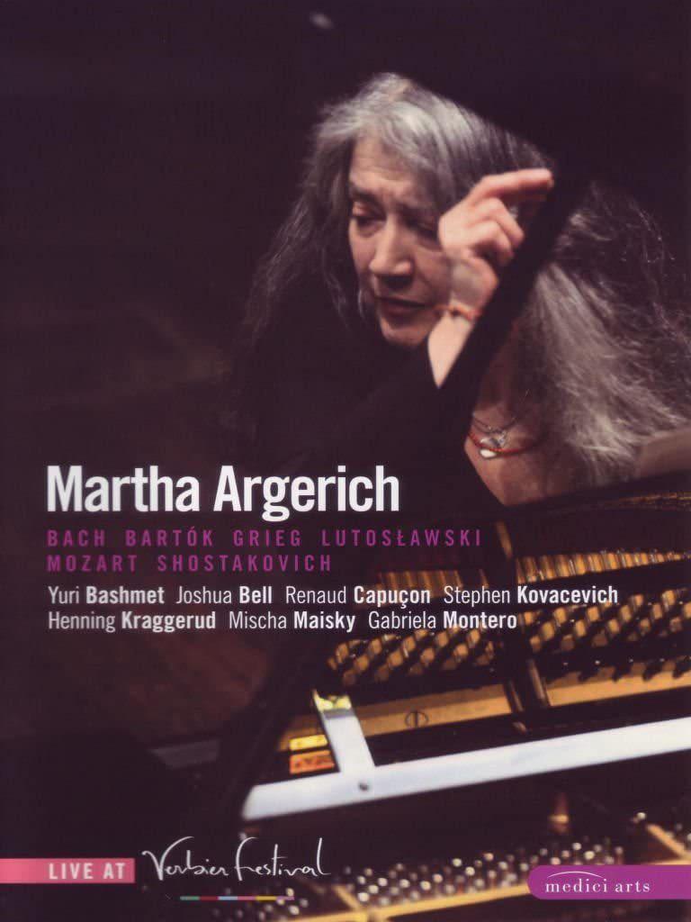 Photo No.1 of Martha Argerich Live At Verbier Festival 2007-2008