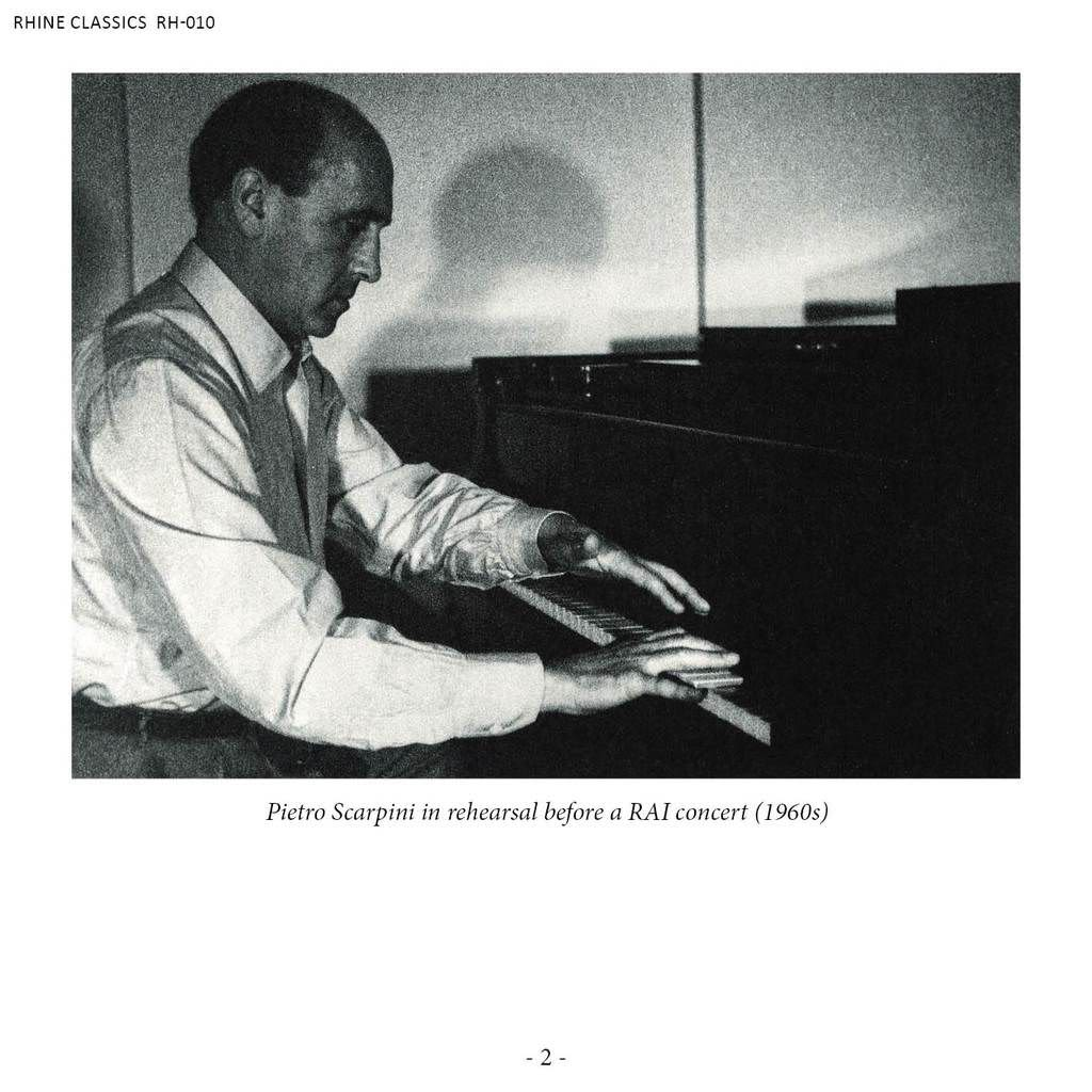 Photo No.3 of Pietro Scarpini - Discovered Tapes from Baroque to Contemporary