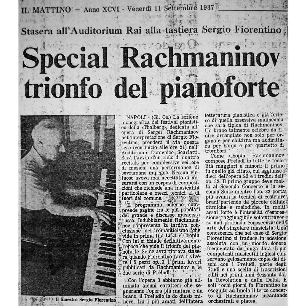 Photo No.3 of Sergio Fiorentino: Rachmaninov Solo Piano Works Complete