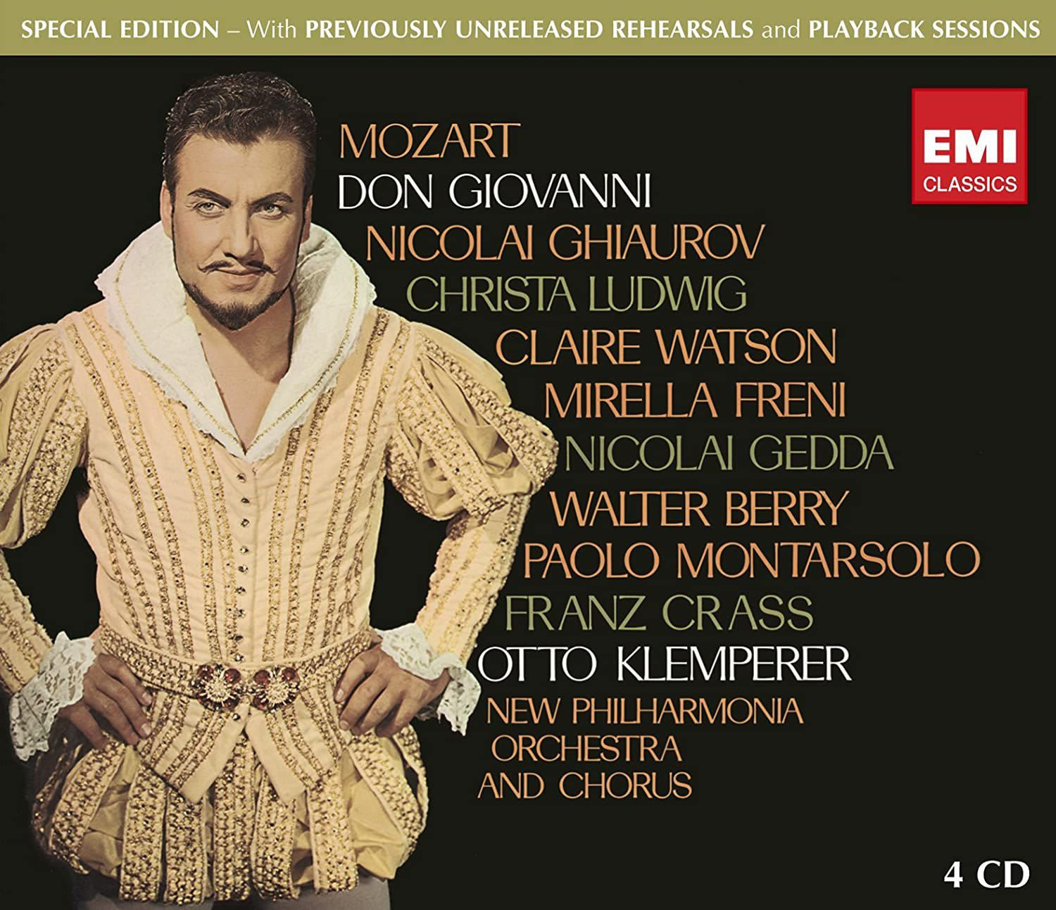 Photo No.1 of Wolfgang Amadeus Mozart: Don Giovanni (Special Edition)