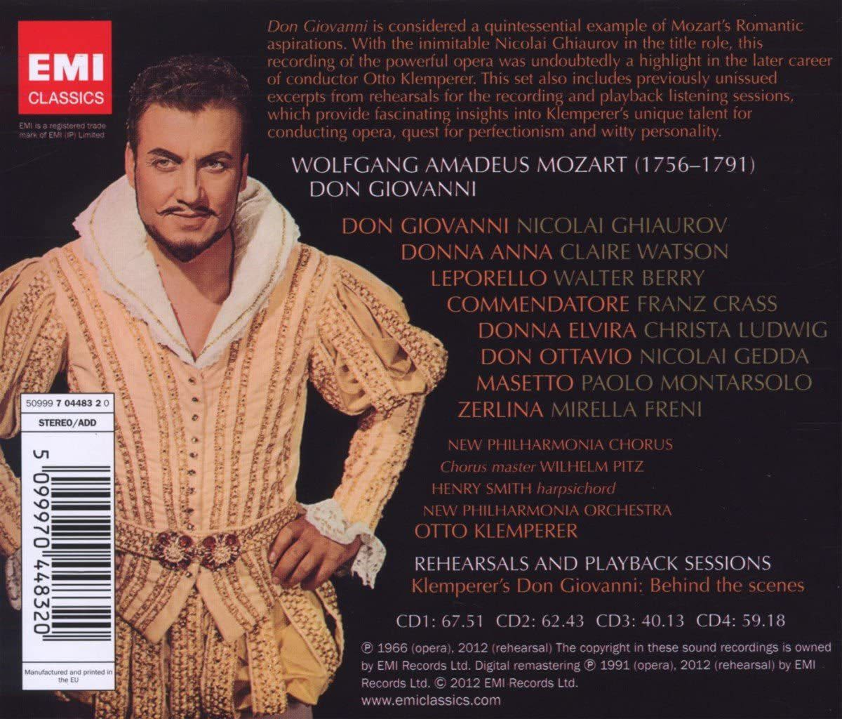 Photo No.2 of Wolfgang Amadeus Mozart: Don Giovanni (Special Edition)