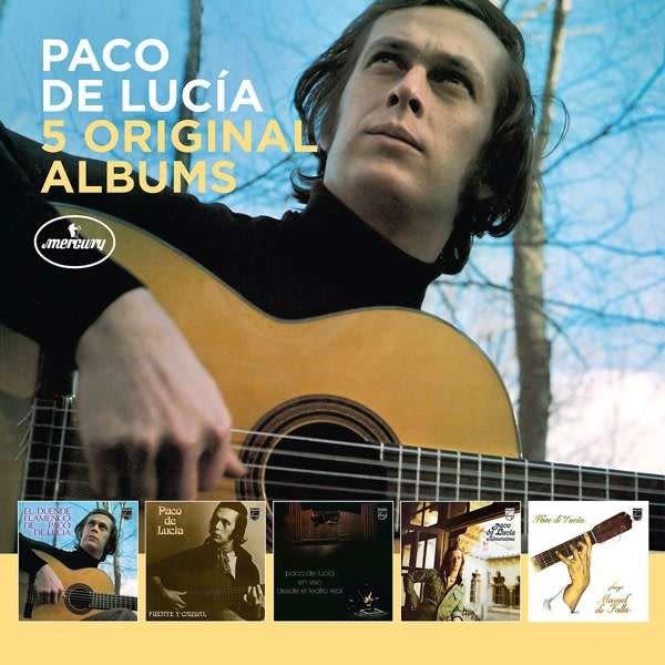 Photo No.1 of Paco de Lucia: 5 Original Albums