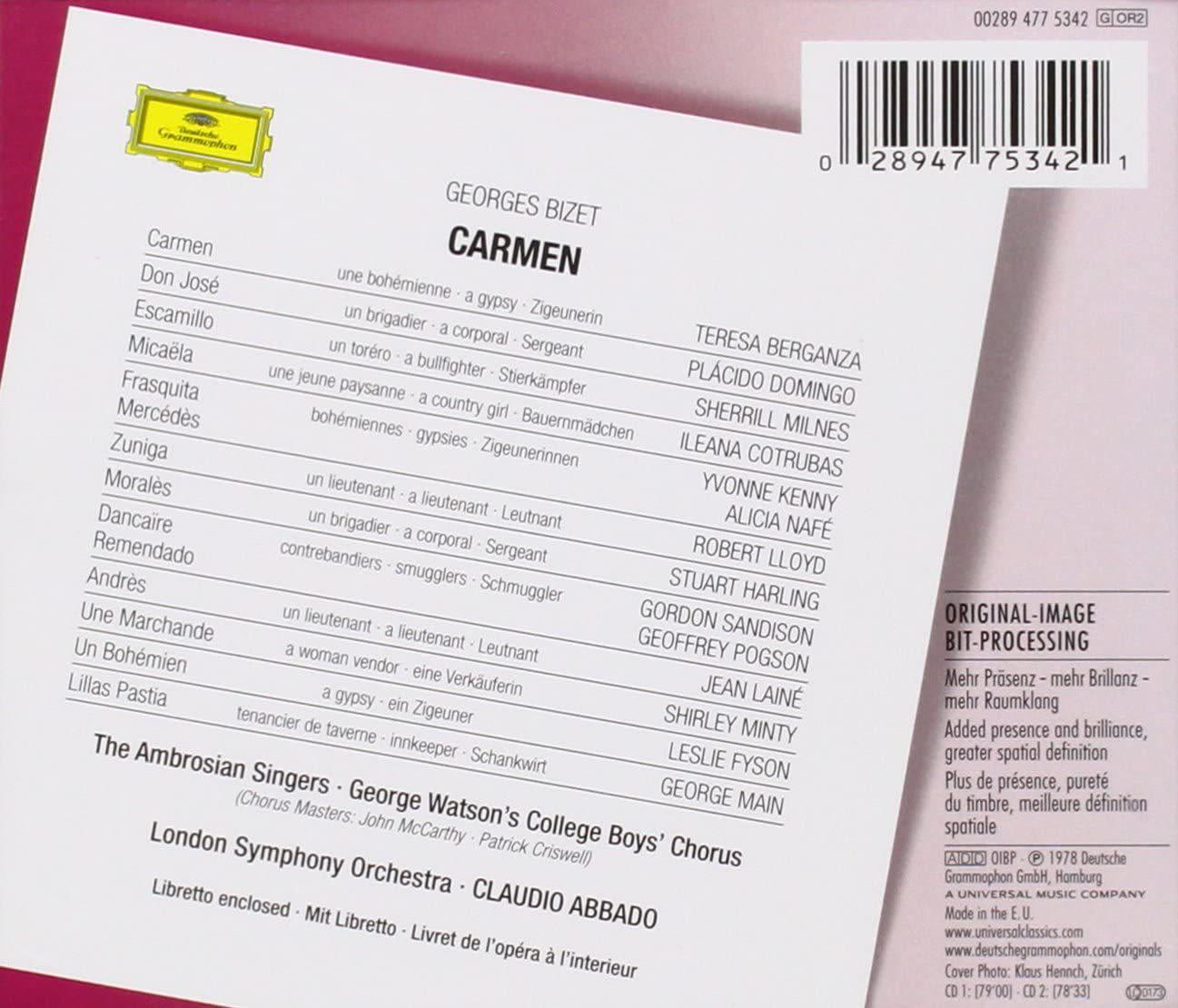 Photo No.2 of Georges Bizet: Carmen