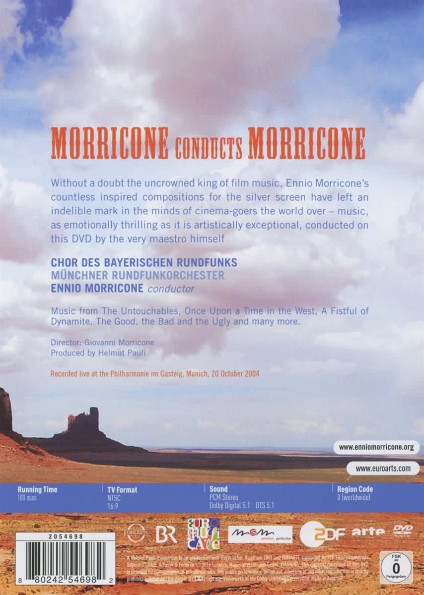 Photo No.2 of Ennio Morricone conducts Morricone