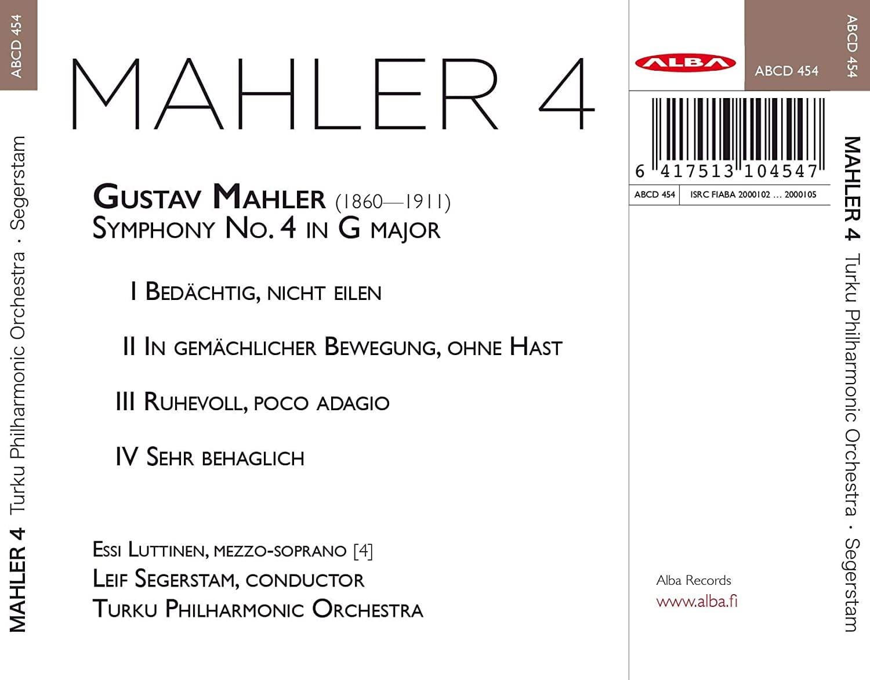 Photo No.2 of Mahler: Symphony No. 4