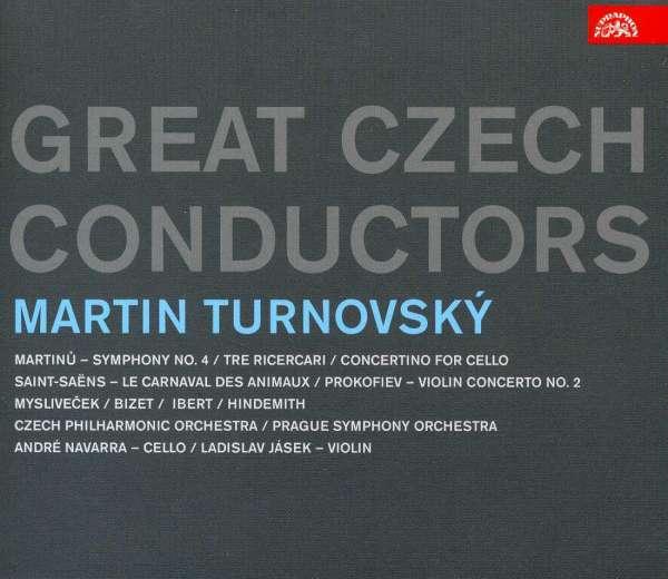 Photo No.1 of Great Czech Conductors: Martin Turnovský