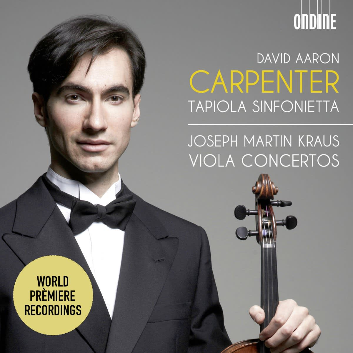 Photo No.1 of Joseph Martin Kraus: Viola Concertos