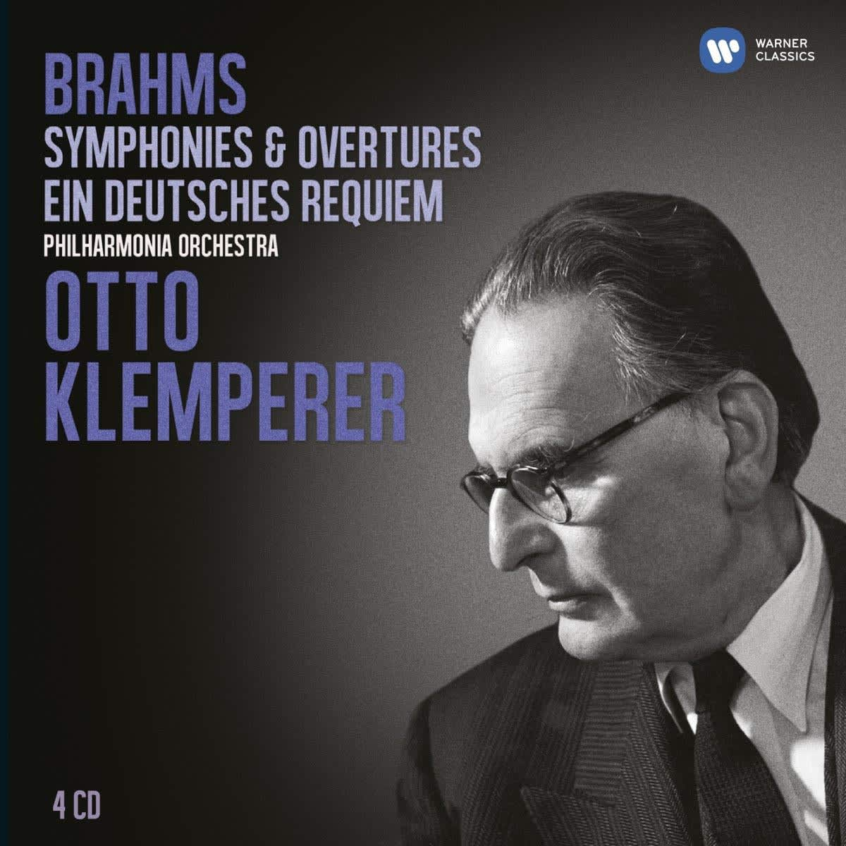 Photo No.1 of Otto Klemperer- Brahms: Symphonies / Overtures / Deutsches Requiem