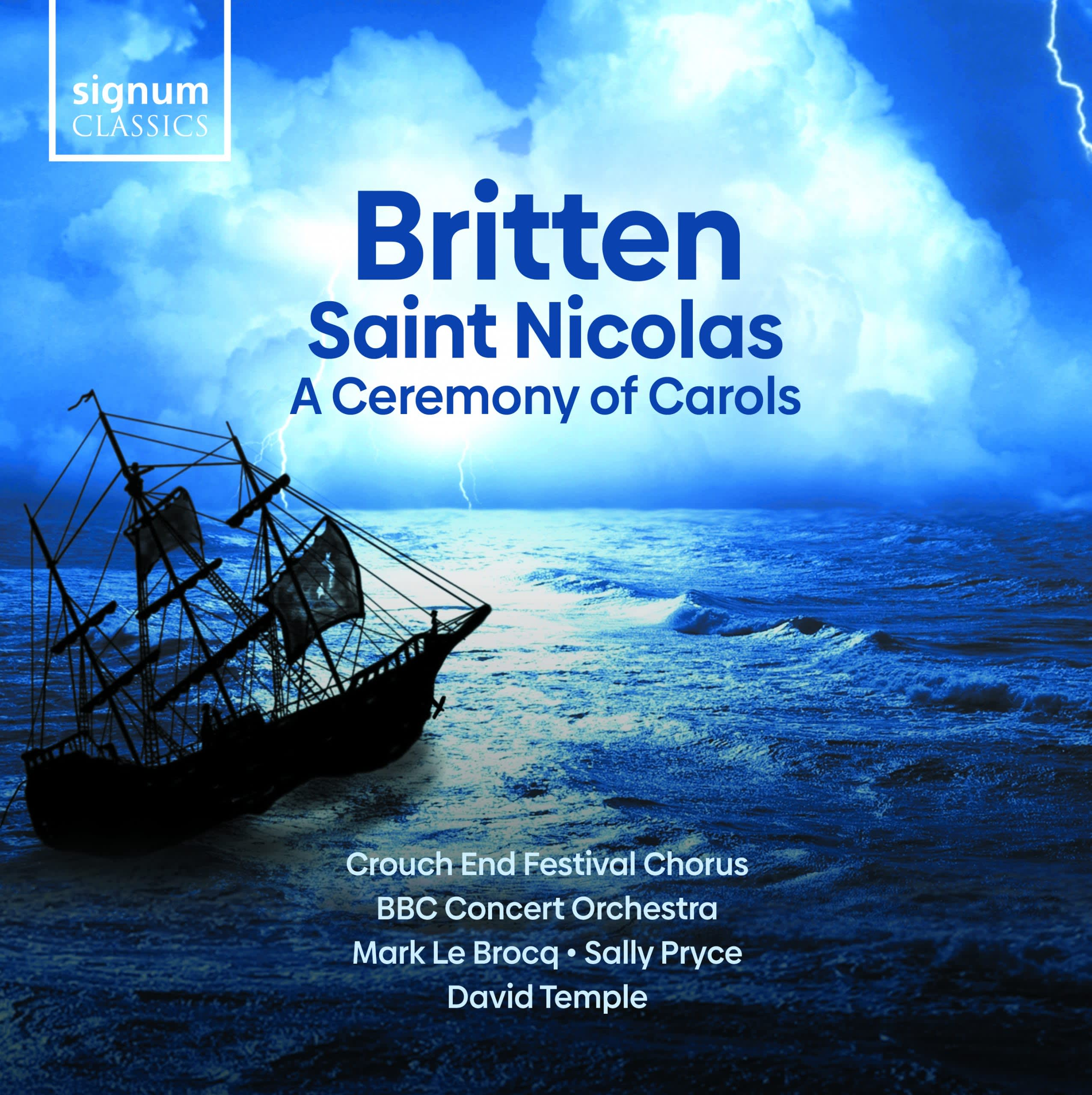 Photo No.1 of Britten: Saint Nicolas & A Ceremony of Carols