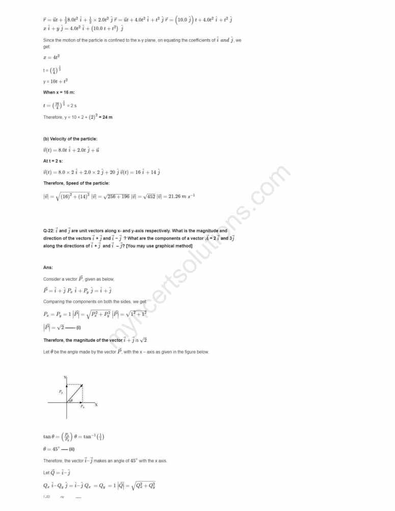 NCERT Solutions For Class 11 Physics Chapter 4 - Free PDFs