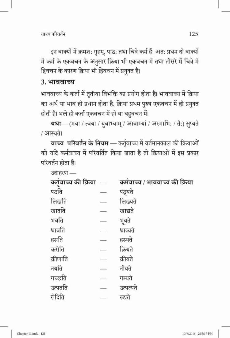 ncert-solutions-class-9-sanskrit-vyakaranavithi-chapter-11-wachya-pariwartan-2