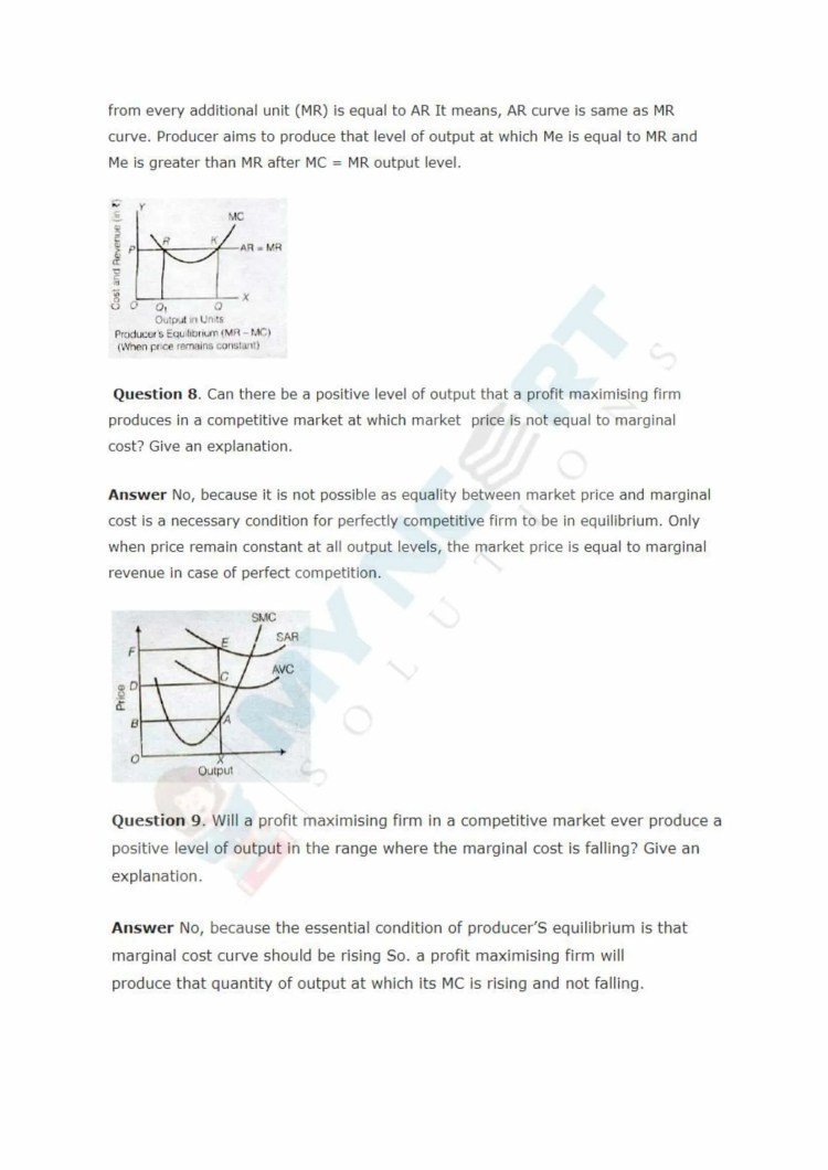 ncert solutions class 12 micro economics chapter 4 the theory of the firm under perfect competition 3
