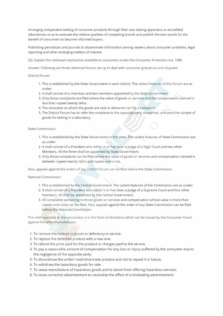 ncert solutions class 12 business studies chapter 12 consumer protection 4