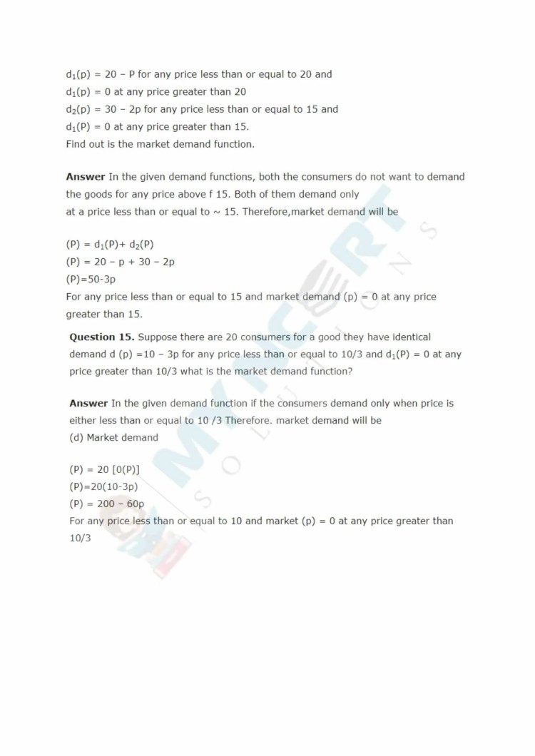 ncert solutions class 12 micro economics chapter 2 theory of consumer behaviour 6