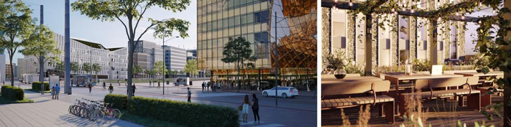 Hyllies största takterrass ska locka till utomhusarbete och skapa välbefinnande 3