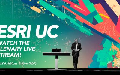Watch the Esri UC Plenary Session on Facebook Live (July 9)