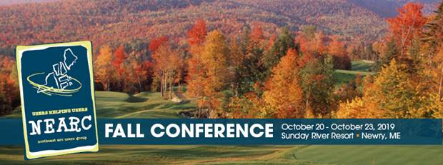 Fall NEARC Conference | Save the date! Please join us Oct. 20-23 at Sunday River Resort in Maine