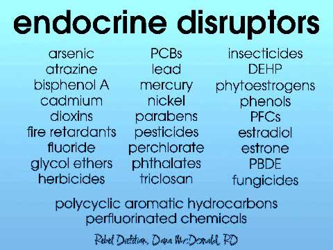 List Of Nature Made Endocrine Disruptors