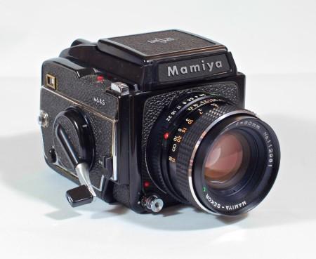 mamiya 645 camera