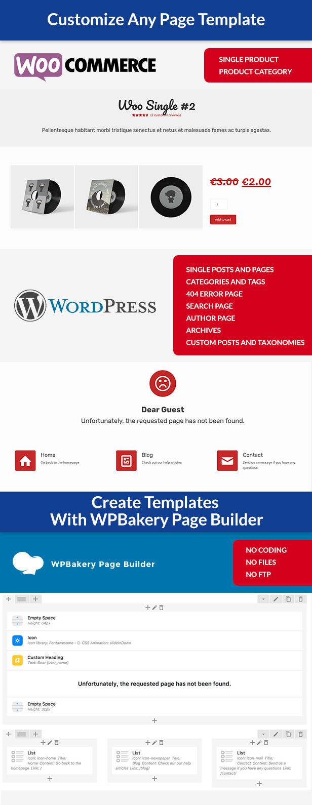 Custom Page Templates: New Way of Creating Custom Templates in WordPress 2
