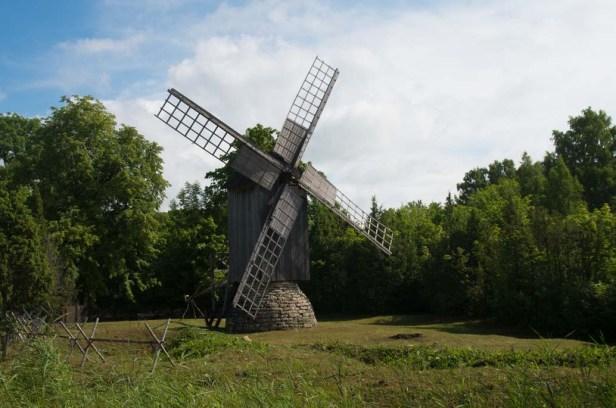 мельница Эему остров Муху Эстония