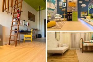 O piso ideal para quarto de criança