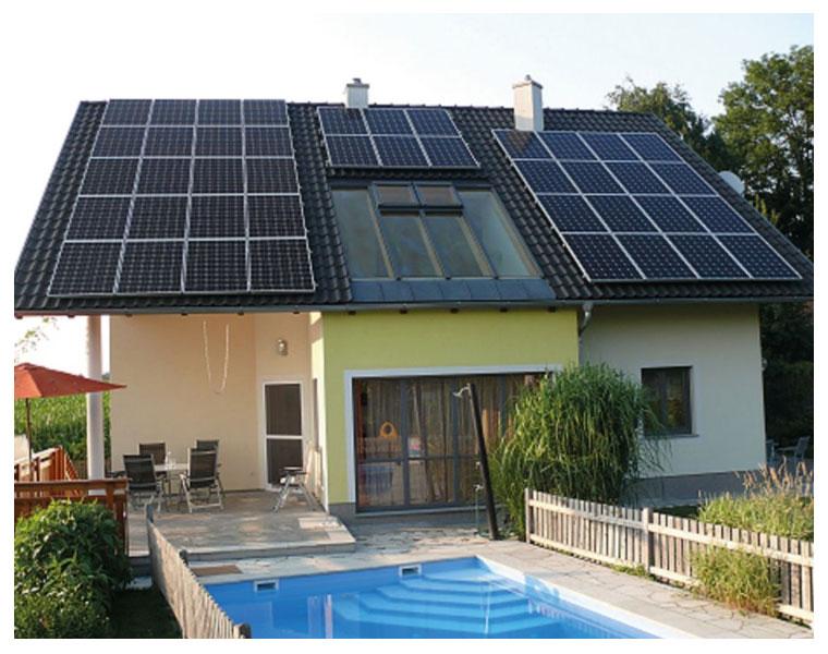 Energia solar e os raios