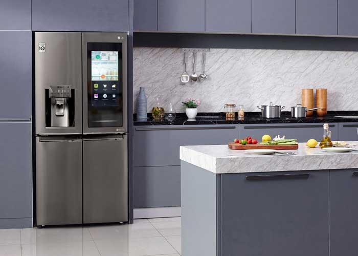 Refrigeradores LG com tecnologia InstaView