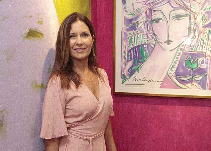 Artista e galerista Cris Conde