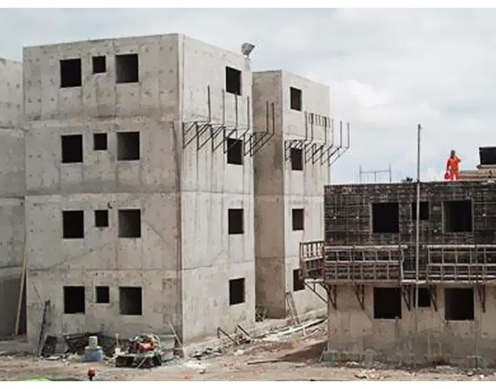 Paredes de concreto: rapidez e qualidade