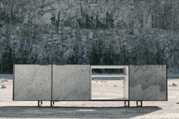 Mobiliário ganha textura com inspiração no natural