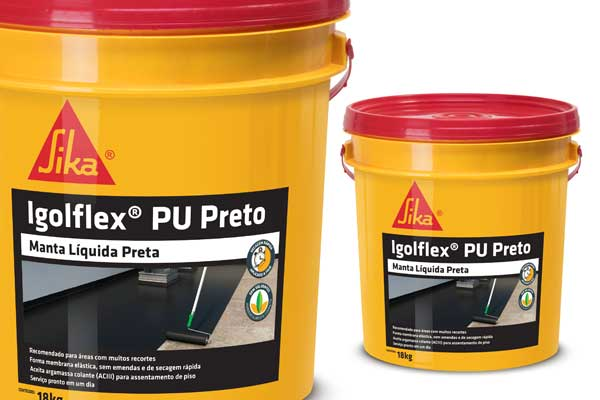 Sika anuncia Igolflex PU Preto