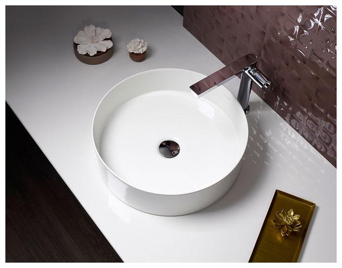 Design minimalista das cubas Mica Kohler