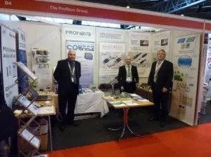 PROFIBUS UK at Sensing Technology 2012