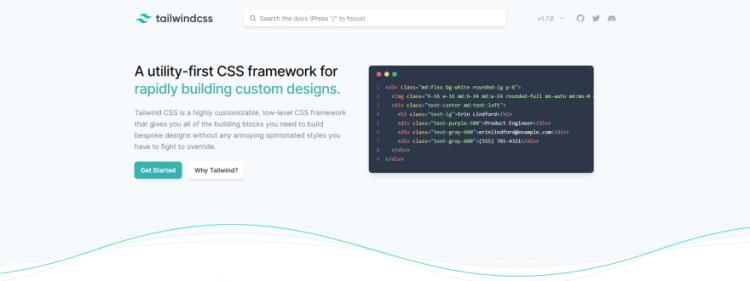 Framework CSS Tailwind