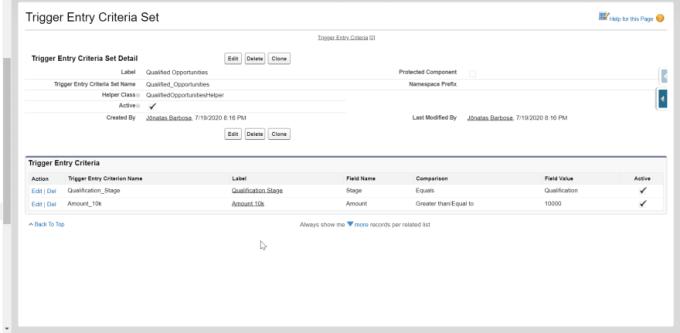 Custom Metadata Records