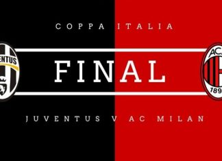 Juventus vs AC Milan - Final Coppa Italia