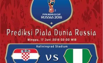 Kroasia vs Nigeria Piala Dunia 2018