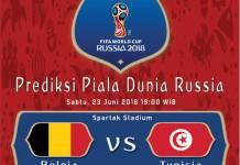 Belgia vs Tunisia, Piala Dunia FIFA 2018