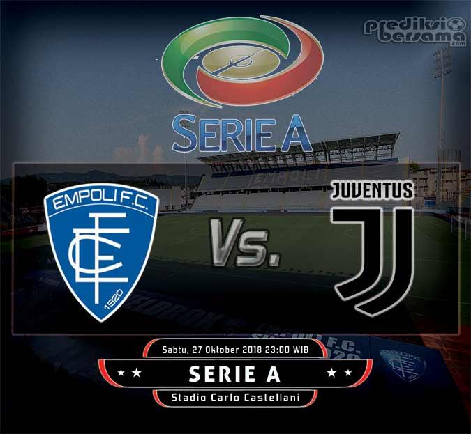 Prediksi Skor Empoli vs Juventus 27 Oktober 2018