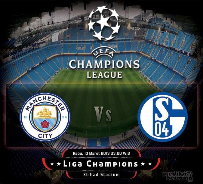 Prediksi Manchester City vs Schalke 04